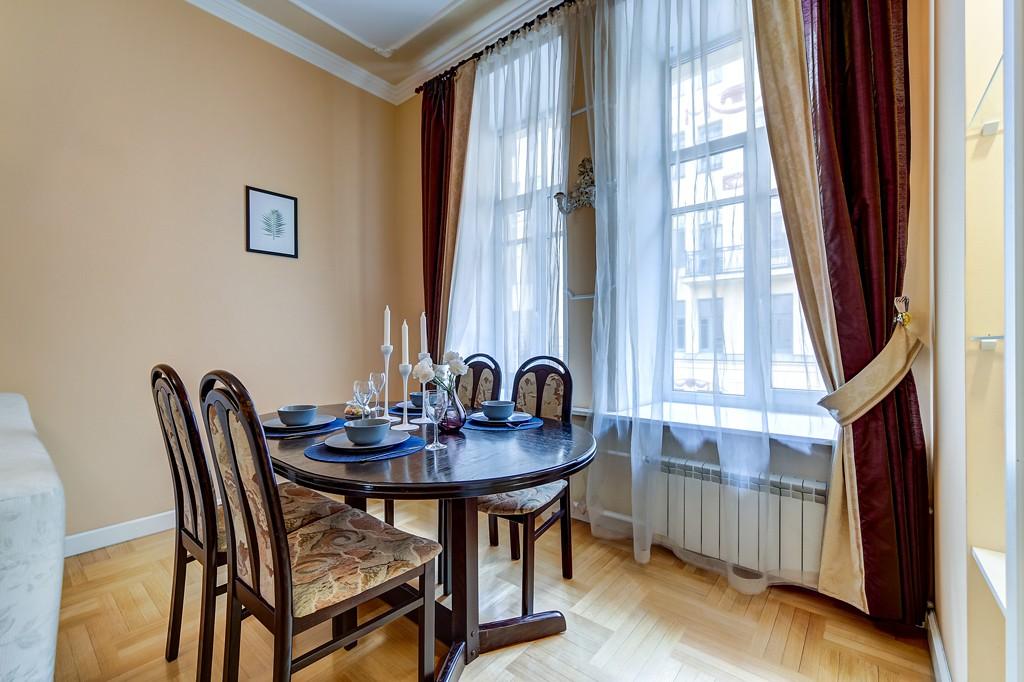 Новая квартира на улице Рубинштейна!