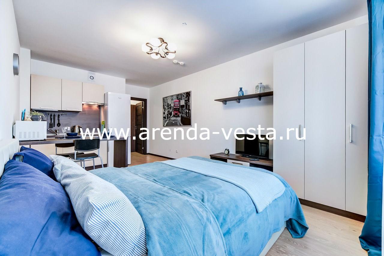 Две новых квартиры-студии на проспекте Энергетиков