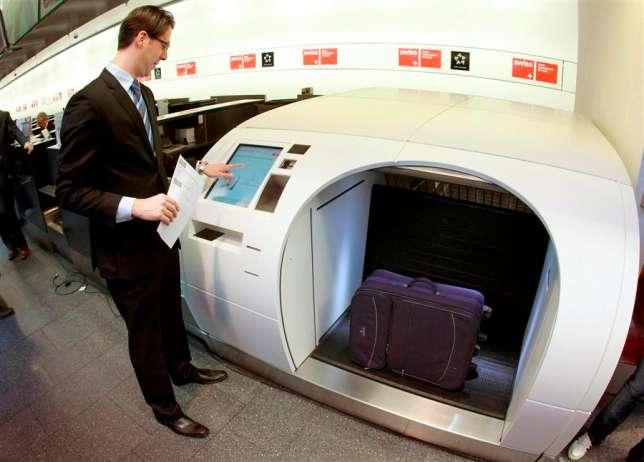 В Пулково появятся единые автоматические стойки сдачи багажа