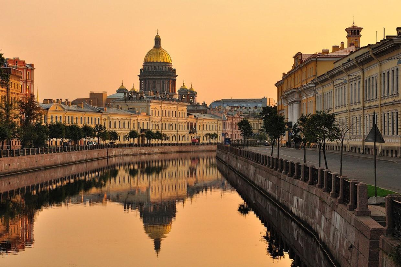 Санкт-Петербург - самое привлекательное культурное направлением мира