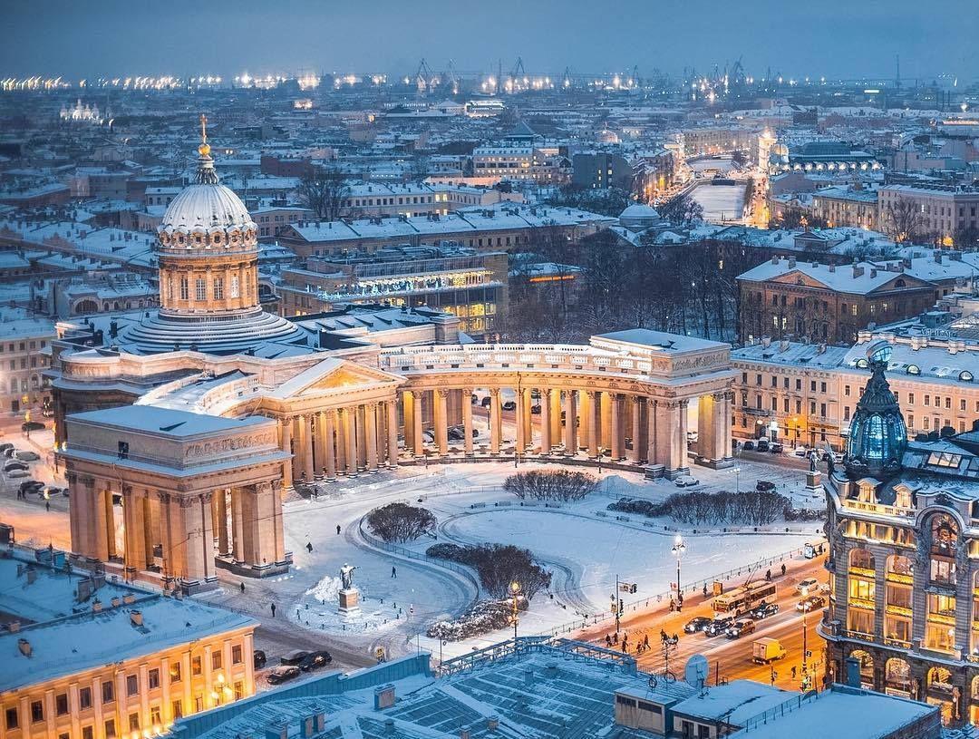 Количество туристов в Санкт-Петербурге на 23 февраля и 8 марта 2021 г. может достичь уровня 2019 г.